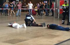 Müslümanlar Alman polisine isyan etti