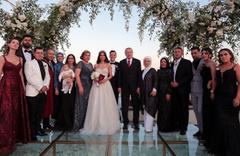 Erdoğan Mesut Özil'in nikah şahidi oldu! Düğüne spor ve sanat camiasından birçok isim katıldı