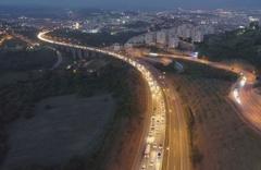 TEM'in Kocaeli kesiminde trafik durma noktasına geldi