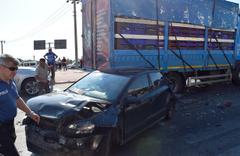 Burdur'da zincirleme trafik kazası 5 yaralı
