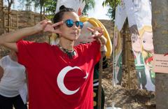 Inna Antalya'da sahne aldı Türkiye için ikinci evim dedi