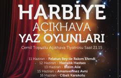 İBBŞehir Tiyatroları Açıkhava Yaz Oyunları başlıyor
