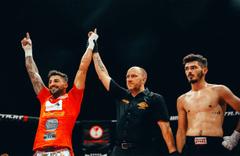 Kick Boksçu Vahit İpek Dünya Şampiyonu oldu