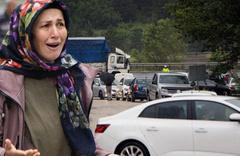 Bolu'da D-100'ün Ankara yönü selden dolayı trafiğe kapandı