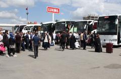 Sivas'tan 6 bin kişi oy kullanmak için İstanbul'a uğurlandı