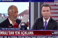 Ali Kemal Özcan Öcalan için 'yerli ve milli şahsiyet' dedi, yayından alındı