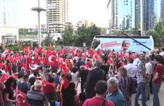 CHP Genel Merkezi'nde sevinç gösterileri
