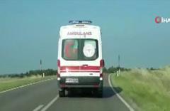 Edirne'de göçmenleri taşıyan minibüs duvara çarptı: 10 ölü