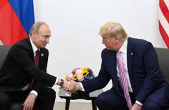 G-20 zirvesinde Putin Trump ile görüştü