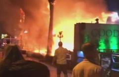 Marmaris'te dehşete düşüren olay! İşletmesini ateşe verdi