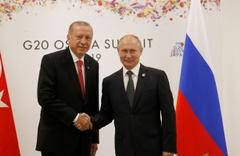 Cumhurbaşkanı Erdoğan ile VladimirPutin görüştü
