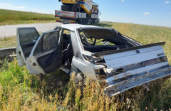 Eskişehir'de trafik kazası 1 ölü 2 yaralı