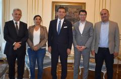 HDP'den Ekrem İmamoğlu'na tebrik ve hayırlı olsun ziyareti