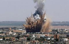 İsrail savaş uçakları Suriye'ye hava saldırısı düzenledi