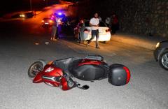 Adıyaman'da motosiklet kazası: 1 ölü 1 yaralı
