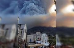 İtalya'da yanardağ aktif hale geçti 1 ölü