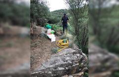 Manisa'da bir şahıs kenevirleri sularken suçüstü yakalandı