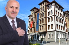 MHP'li Başkan Çiftçi talimatı verdi! Çayeli Belediyesi girişine T.C. ibaresi eklendi