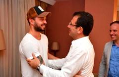 Ekrem İmamoğlu'nun seçim kampanyasına bağışı olay olmuştu! Murat Boz ve İmamoğlu buluştu