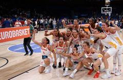 Kadınlar basketbolda Avrupa'nın en büyüğü belli oldu