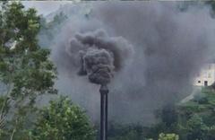 Rize Kalkandere'yi kara dumanlar sardı halk isyan etti