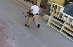 Elinde tüfek, belinde tabanca ile cinayete böyle gitmiş!