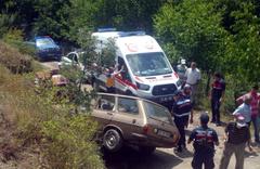 Bursa'da kadın çiftçi, frenleri boşalan otomobilin altında can verdi!