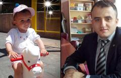 Babası doğduğunda kalp krizinden ölmüştü! 1,5 yaşındaki kızı da kazada yaşamını yitirdi