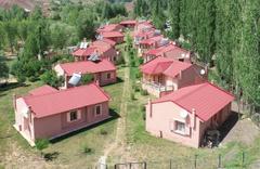 Tüm evler birbirinin aynısı! Sivas'ta ünlü iş adamı Bolucan köyünü yeniden inşa etti