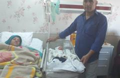 26 yıl sonra 15 Temmuz'da çocuk sahibi oldular adını Ömer Halis koydular