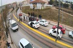 Eskişehir'de 5.5 aylık hamile kadın trafikte böyle dövüldü