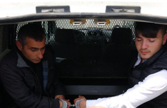 Kastamonu'da cezaevindenfirar etmişlerdi! Karabük'te yakalandılar