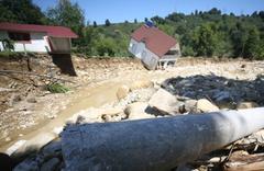 Düzce'de son durum son yılların en büyük sel felaketinden dehşet görüntüler