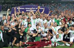 Afrika Uluslar Kupası'nı Cezayir kazandı