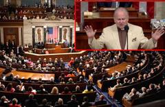 """ABD Kongresi'nde """"karanlık ruhları kovan"""" dua!"""