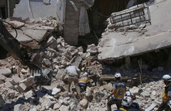 Suriye rejimi İdlib'te yine katliam yaptı