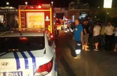Sefaköy'de bir araç durağa daldı: 6 yaralı