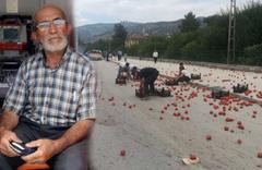 Amasya'da sürücüler ve yolculardan insanlık örneği