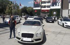 Emniyet'in önü lüks araç galerisine döndü! Değeri tam 40 milyonu buluyor