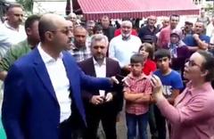 AK Partili başkan Ali Kılıç ile kadınlar birbirine girdi: Şov yapmayın