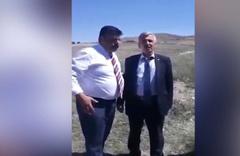 Bahçeli paylaşımı! İYİ Partili Davut Sevinç'e MHP'li Ahmet Kazanç dağ başında özür diletti