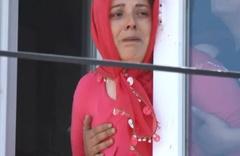 En acı vedanın fotoğrafı! Samsun'da 3 kuzen sonsuzluğa uğurlandı