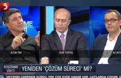"""Altan Tan """"İmralı'dan PKK'ya silah bırakma çağrısı gelebilir"""""""