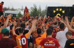 Galatasaray ilk maç için Denizli'ye geldi