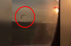 Rusya'da martı sürüsüne çarpan uçak acil iniş yaptı