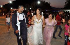 Ay lav yu filmi gerçek oldu! Amerikalı Zabrian ile Çukurcalı Ramazan'dan dillere destan düğün