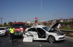 Antalya'da akıl almaz zincirleme trafik kazası!