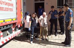 Aydın'da yangın! Balkonda uyudular ölümden kurtuldular