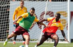 Galatasaray Konyaspor maçı hazırlıklarını sürdürdü
