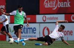 Beşiktaş Göztepe maçı hazırlıklarını sürdürüyor